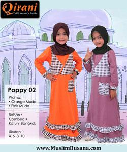 Qirani Kids Poppy 02 Gamis Anak