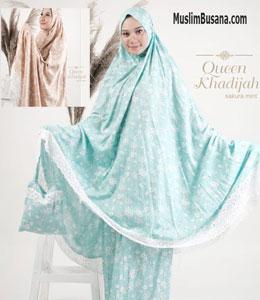 Queen Khadijah Mukena