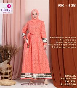Rauna RK 138 Gamis Dewasa