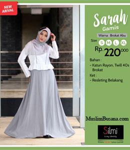 Silmi Sarah Abu Gamis Dewasa