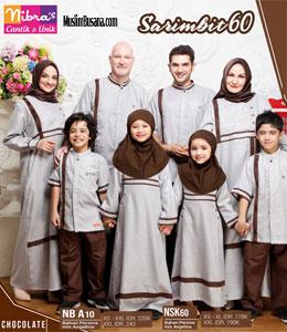 Nibras Sarimbit 60 Coklat Sarimbit