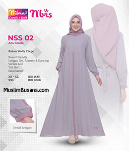 Nibras Gamis NSS 02