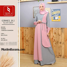 Gamis Dewasa - Seply Gissel 215 by Ethica