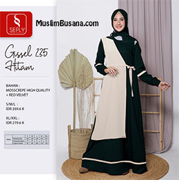 Gamis Dewasa - Seply Gissel 235 by Ethica