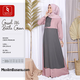 Gamis Dewasa - Seply Gissel 246 by Ethica